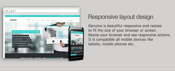 Genuine - Multi Purpose HTML5 Creative Template
