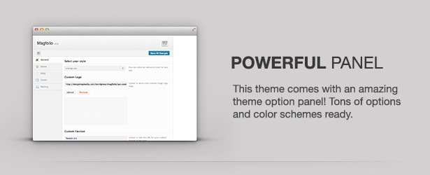Magfolio - WP WooCommerce Portfolio Blog Theme