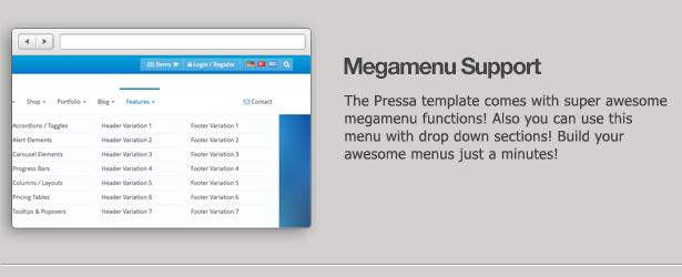 Pressa - Multi Purpose HTML5 Website Template